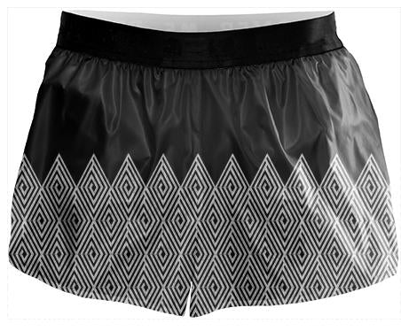 Zigzag Tribal pattern Running Shorts