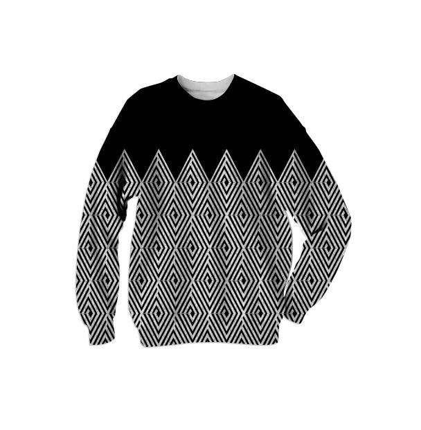 Zigzag Tribal pattern Sweatshirt