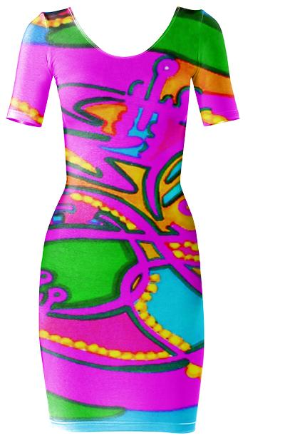 explosion bodycon dress