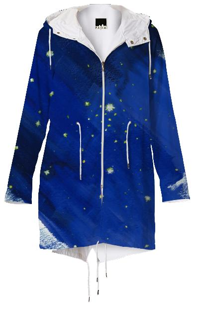 starry raincoat