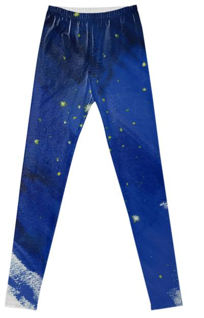 Starry leggins