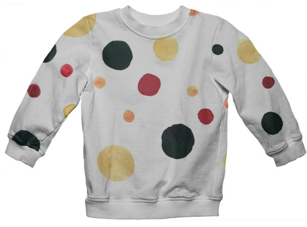 spots kids sweatshirt