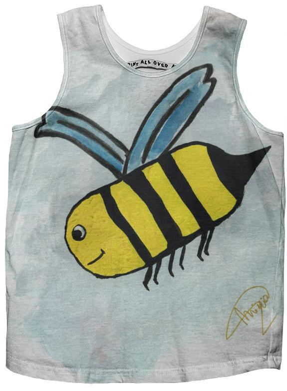 bee kids tank top