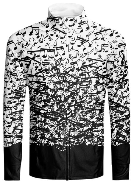 Raining Music Notes