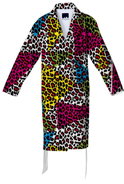 Abstract leopard print