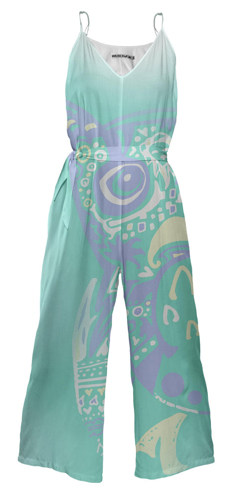 Isle Beastie Jumpsuit with Sash
