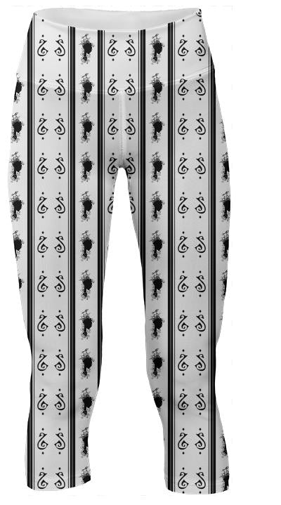 Summer s Phantom Pattern Leggings