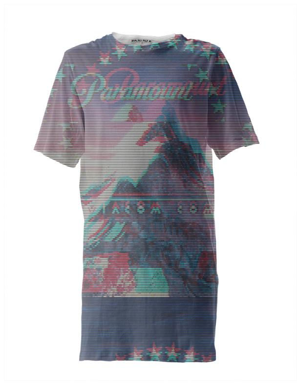 Paramount Glitch Long Tee