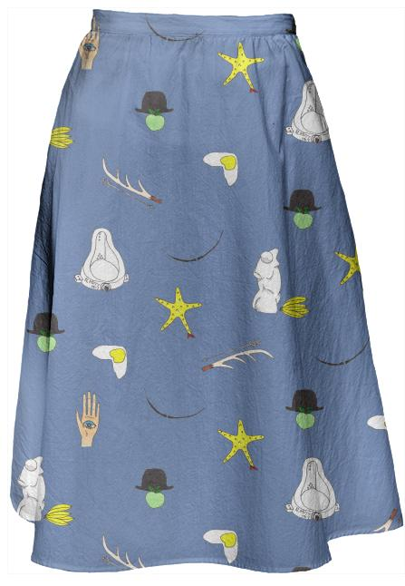 Surrealist Nonsense Skirt