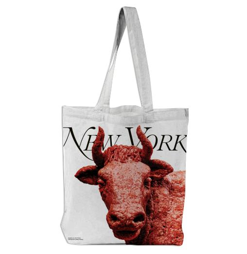 PAOM, Print All Over Me, digital print, design, fashion, style, collaboration, nymag, Tote Bag, Tote-Bag, ToteBag, Burger, Sculpture, autumn winter spring summer, unisex, Poly, Bags