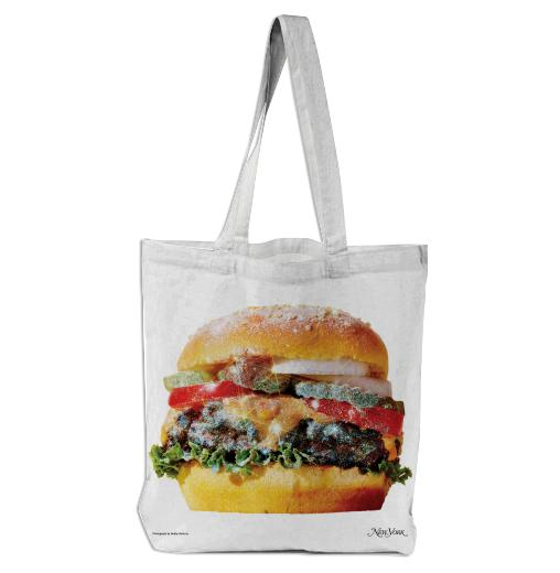 PAOM, Print All Over Me, digital print, design, fashion, style, collaboration, nymag, Tote Bag, Tote-Bag, ToteBag, Sparkle, Burger, autumn winter spring summer, unisex, Poly, Bags