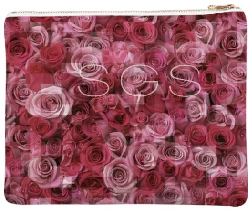 SGS pink rose clutch
