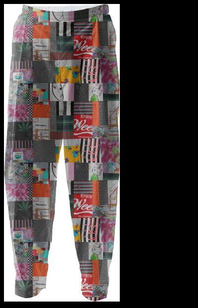 Crazy Quilt Relaxed Pant