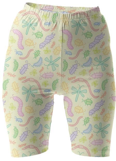 Pastel Bug Bike Shorts