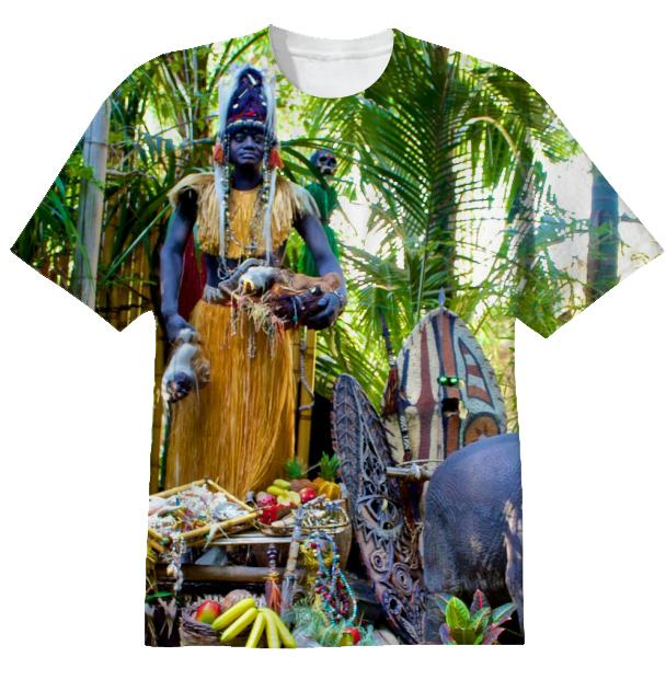 Disneyland Jungle Cruise Trader Sam T Shirt