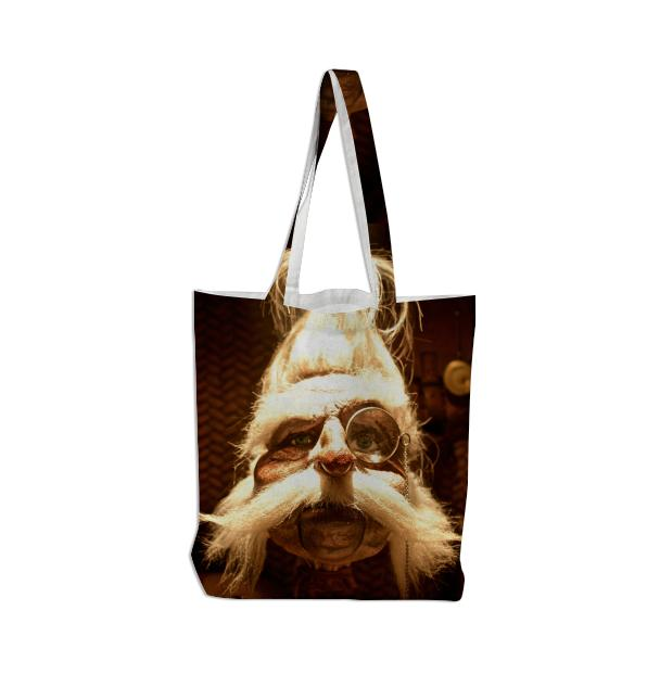 Shrunken Ned Tote Bag