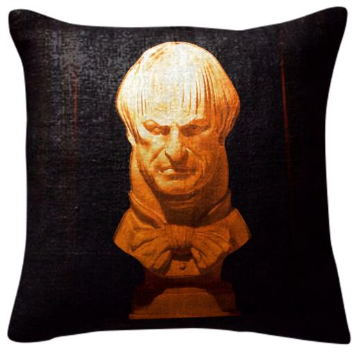Haunted Mansion Pillow Creepy Bust