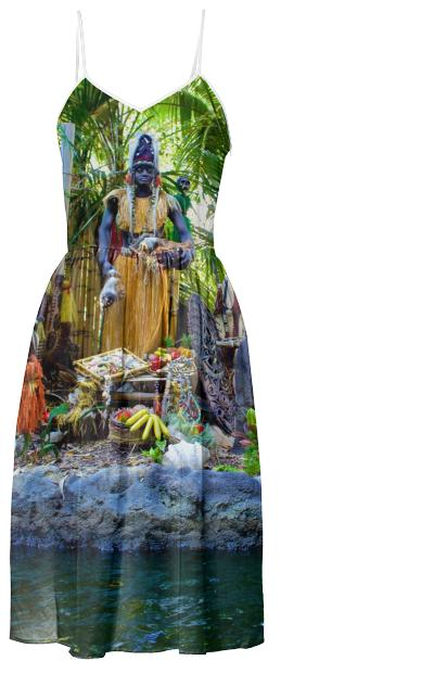Trader Sam Tiki Dress