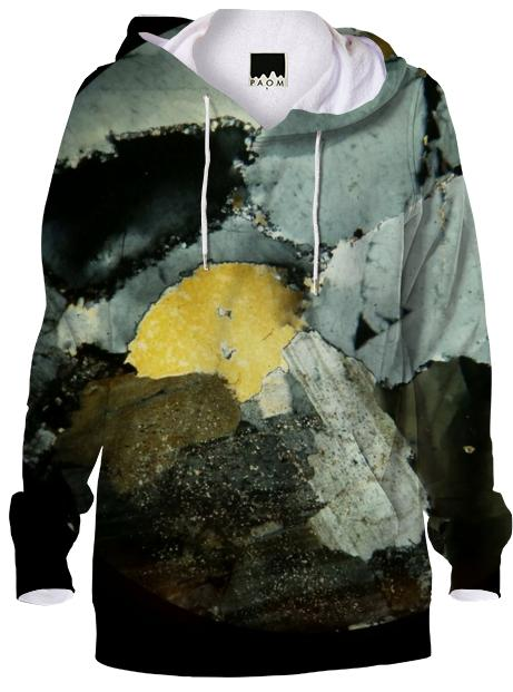 Crystalline BW Gold sweatshirt