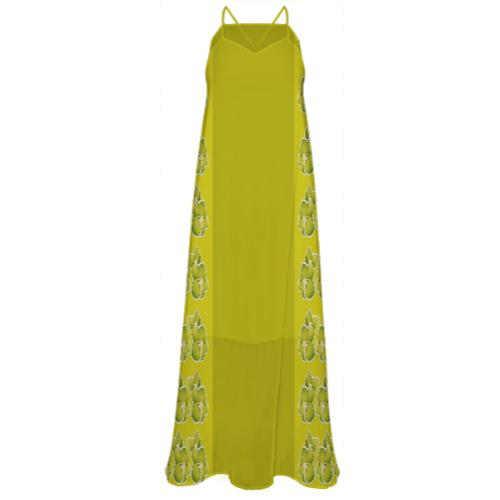 GOLDEN AGE CHIFFON MAXI DRESS