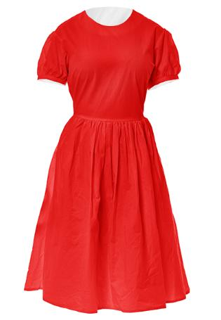 RED by Hudson Sails Dirndl Dress