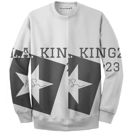 LA Kingz PS Sweter Grey