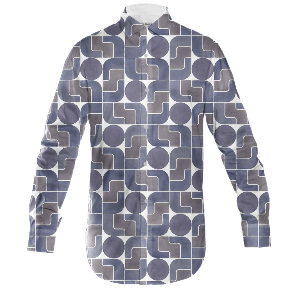 Monte Albán Mod mens button down by Frank-Joseph