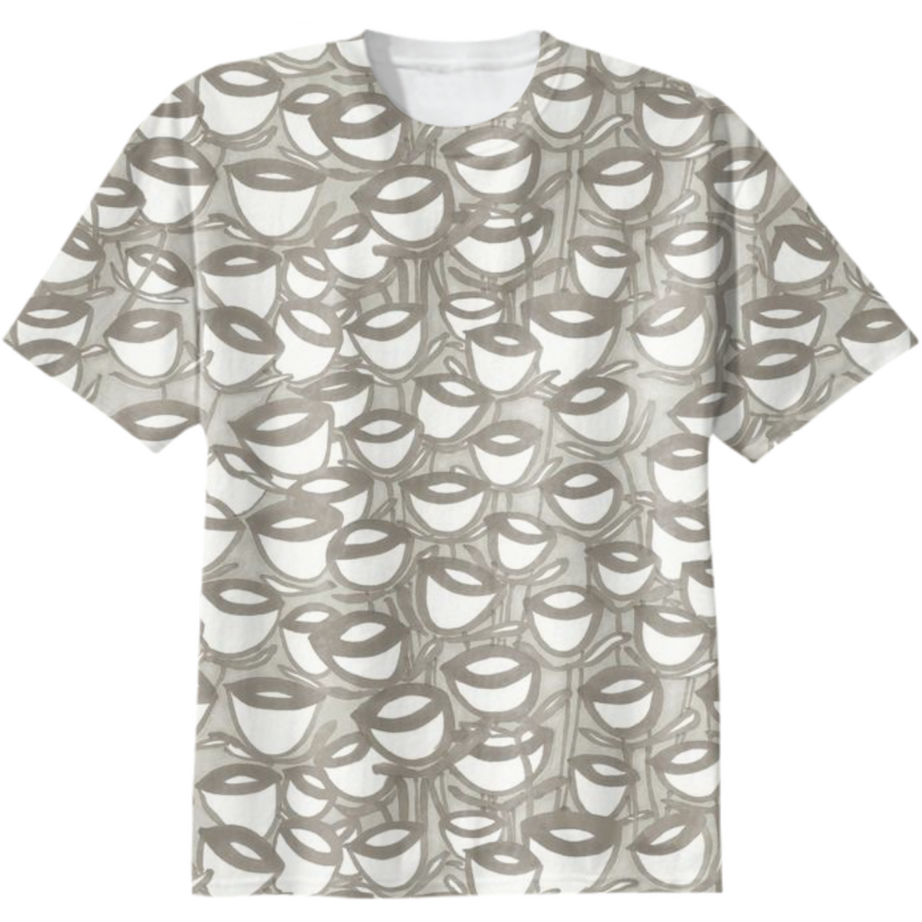 Cup cotton t-shirt