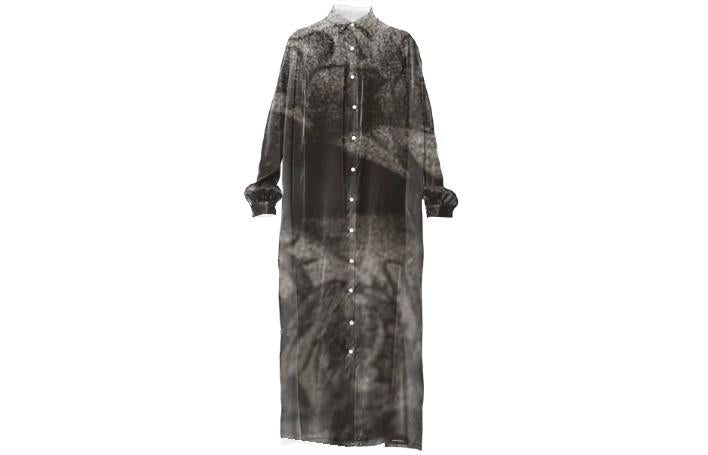 VP Silk Shirtdress