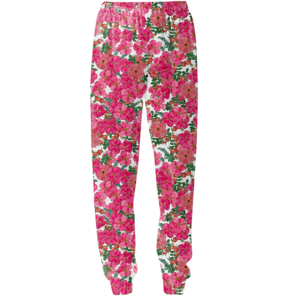 wild rose cluster white sweats