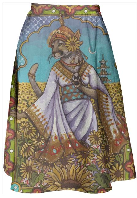 China Cat Skirt
