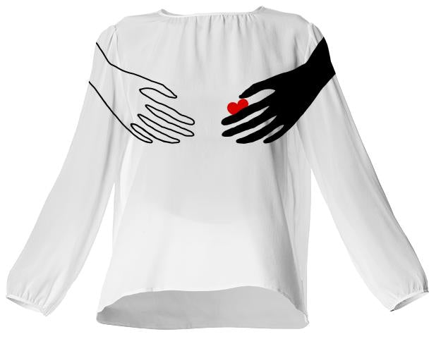 Hand on Heart top