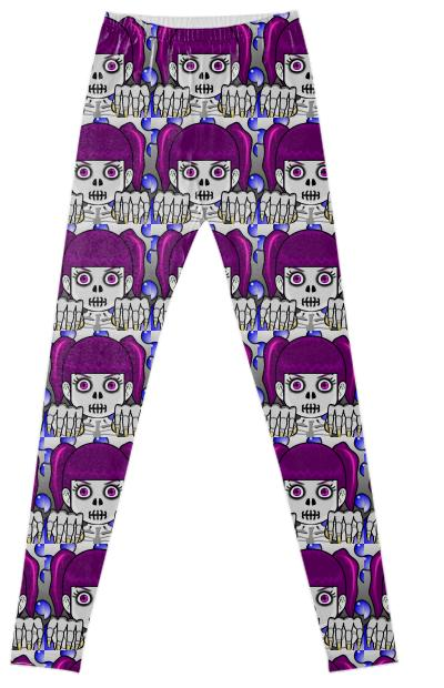Zombie Girl Leggings