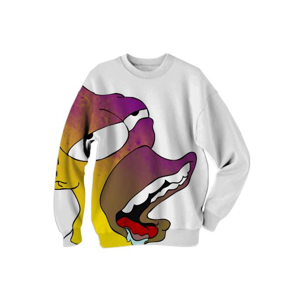 Abstract Homer Sweatshirt