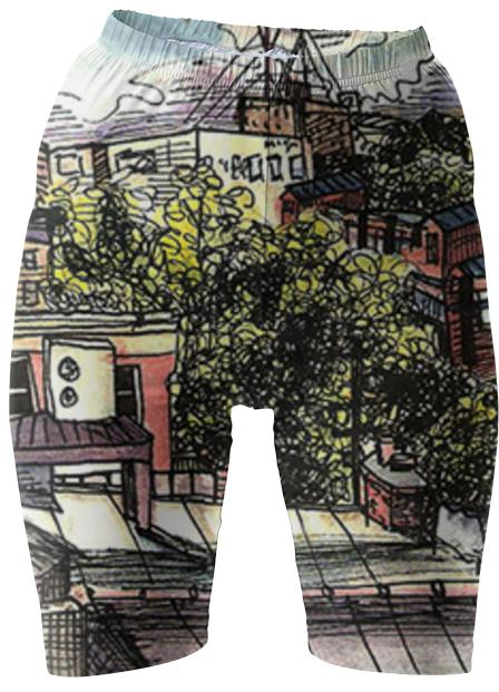 Ryan s Roof bike shorts