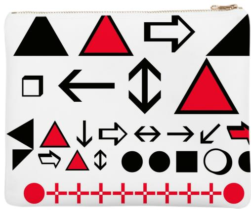 TRI CITY 33 Wingdings Clutch Bag