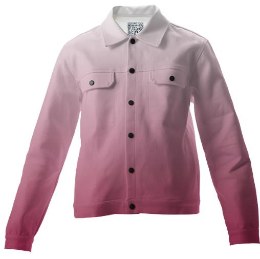 Fade To Pink Twill Jacket
