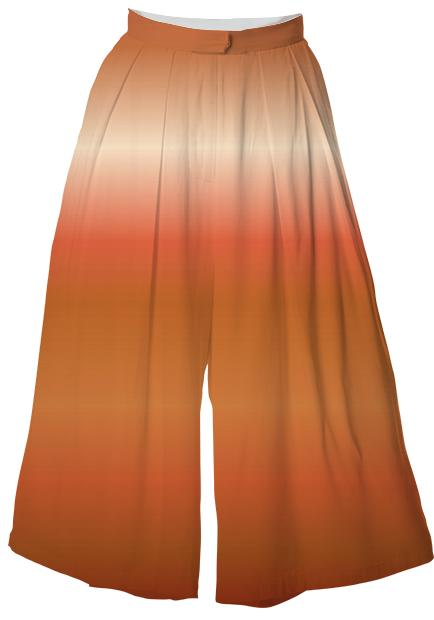 Peaches and Chocolate VP Culotte