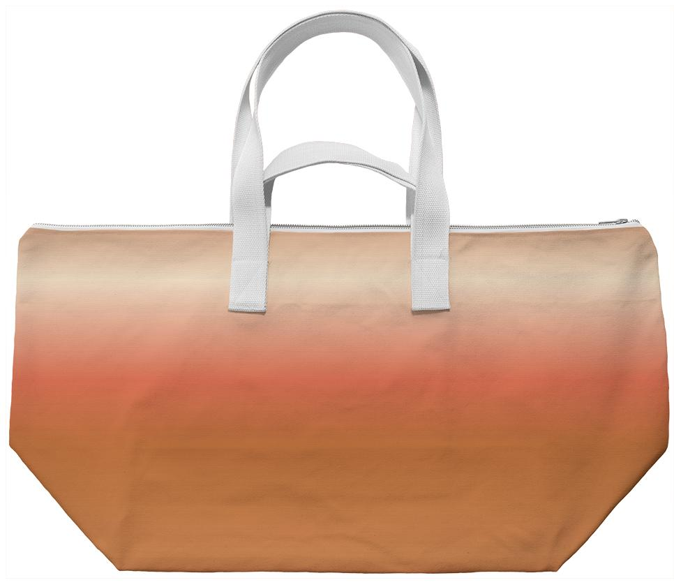 Peaches and Chocolate Weekend Bag