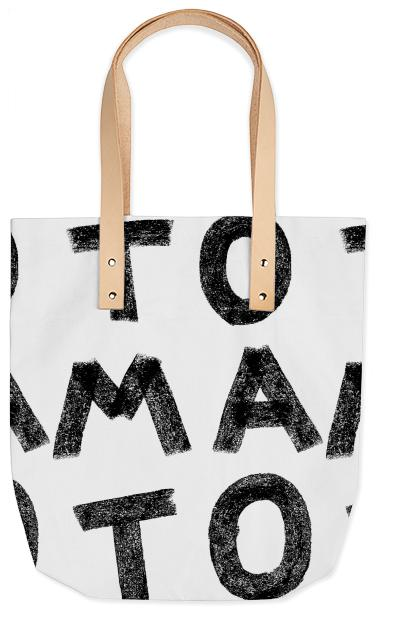 PAOM, Print All Over Me, digital print, design, fashion, style, collaboration, jessica-edmiston, jessica edmiston, Summer Tote, Summer-Tote, SummerTote, Tomato, Tomato, spring summer, unisex, Poly, Bags