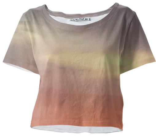 Sunset Crop Tee