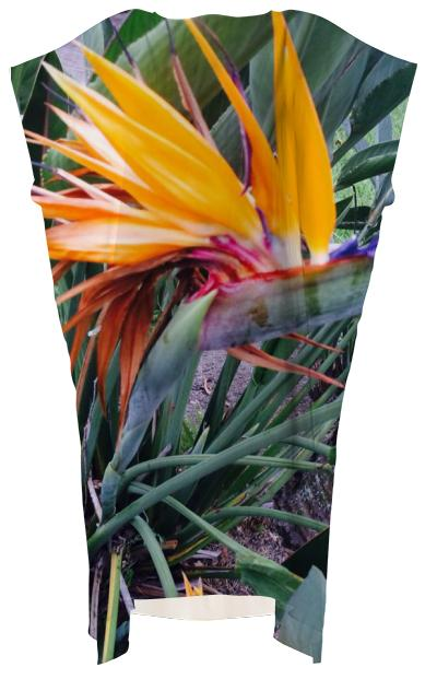 Bird of Paradise Square Dress