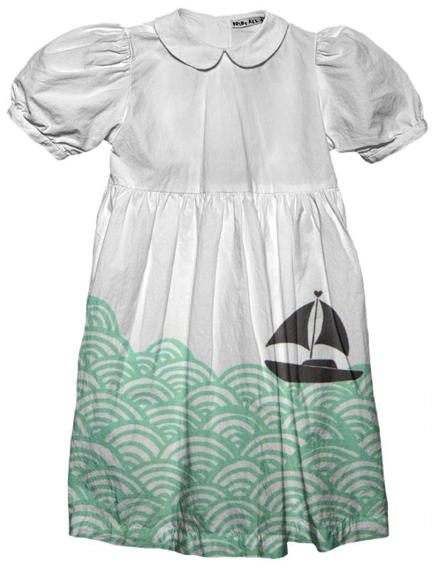 Waves Kids Party Dress