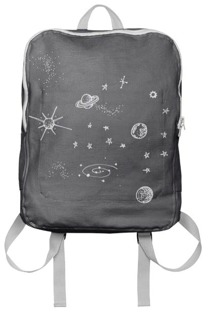 cute lil starry backpack