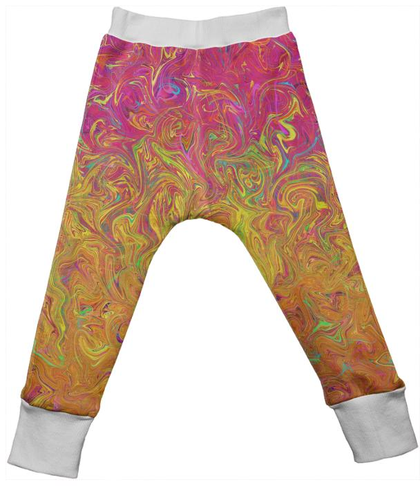 Kids Drop Pant Fluid Colors G27