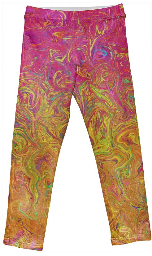 Kids Leggings Fluid Colors G27