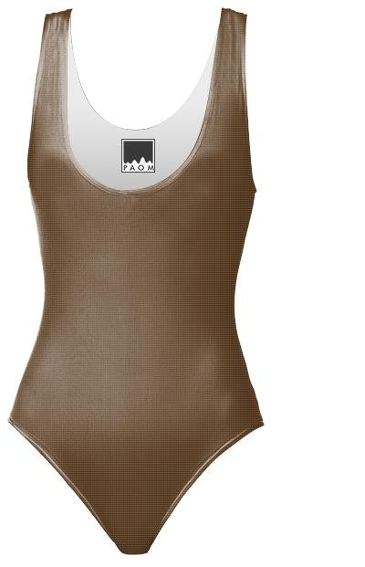 PLAYTIME Brown Swimsuit