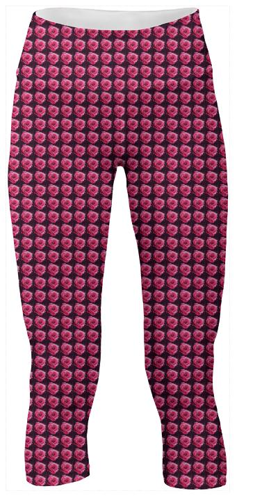 PINK ROSE Medium YOGA Pant