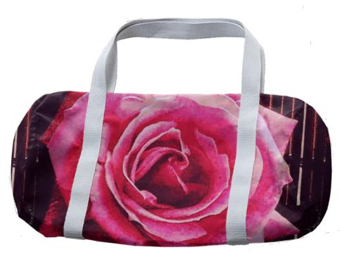 PINK ROSE Duffel Bag