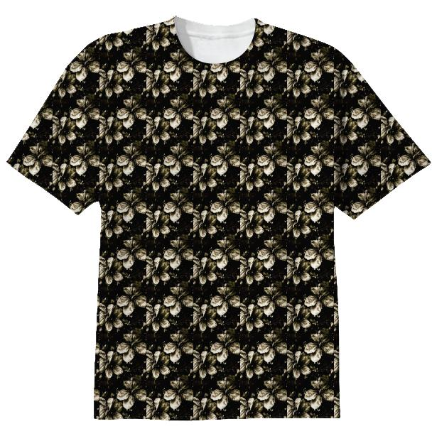 Small Flower s Pattern T Shirt